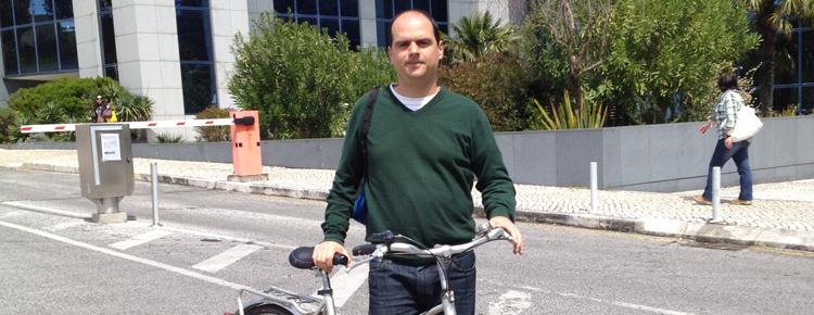 O ciclista urbano
