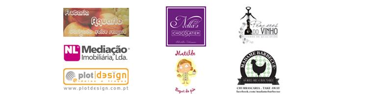 Matilde - Bazar do Pão | Prazeres do Vinho | Madame Barbecue | Nella's Chocolatier | Frutaria Aquário |PlotDesign | Nuno Leite - Mediação Imobiliária