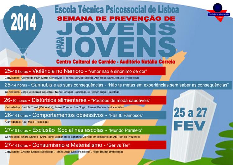 Semana de Prevenção de Jovens para Jovens