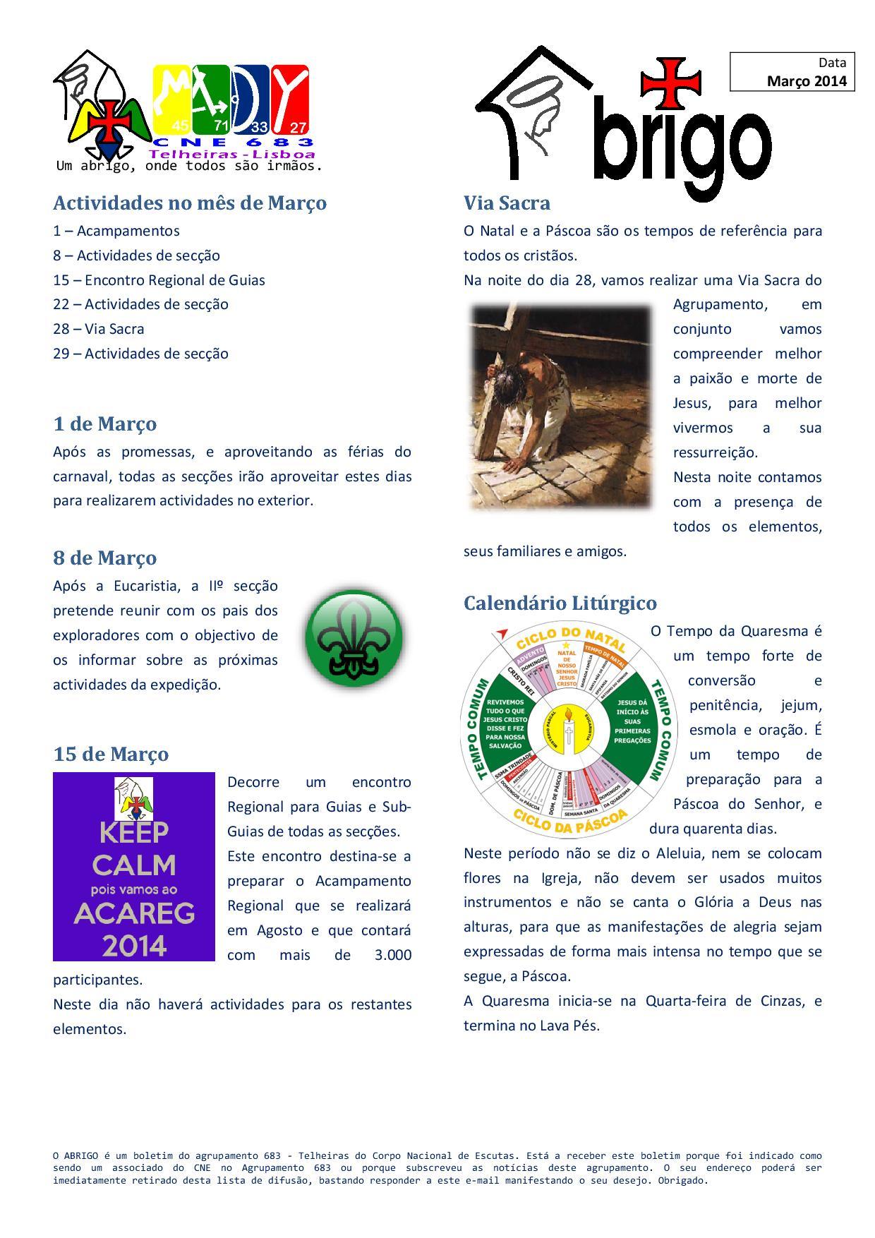 ABRIGO - 06 2014Mar