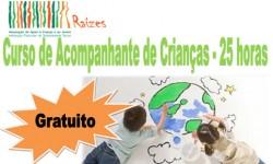 Curso de Acompanhante de Crianças para desempregados capa