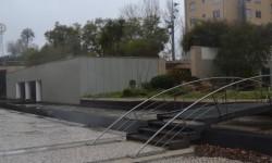 Fontes da Praça Central vandalizadas
