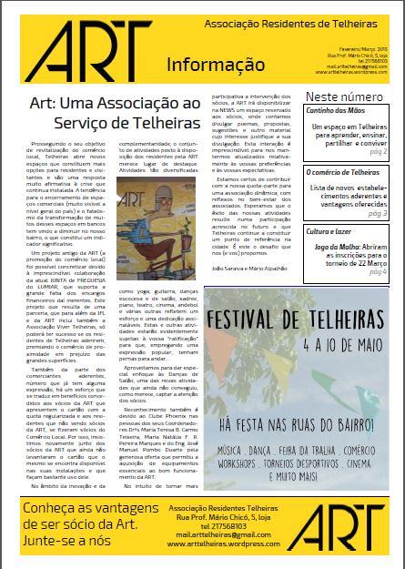 Newsletter ART Março