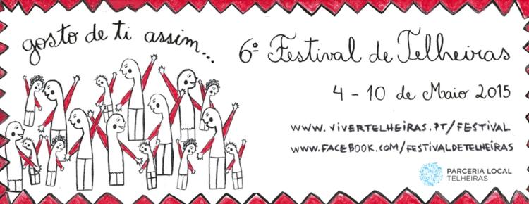 Já há cartaz do 6º Festival de Telheiras capa