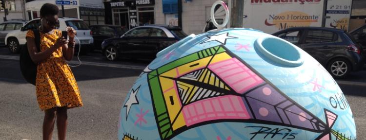 Há arte urbana a nascer no Lumiar