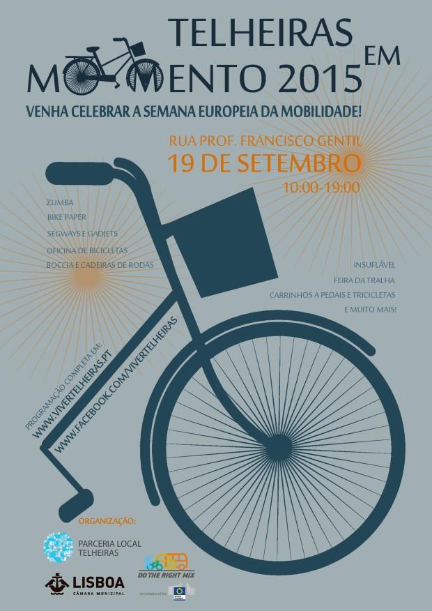 Telheiras em Movimento 2015 cartaz