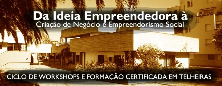 Formação e Workshops Empreendedorismo capa