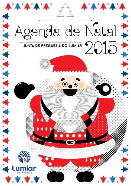 Agenda de Natal 2015 imagem