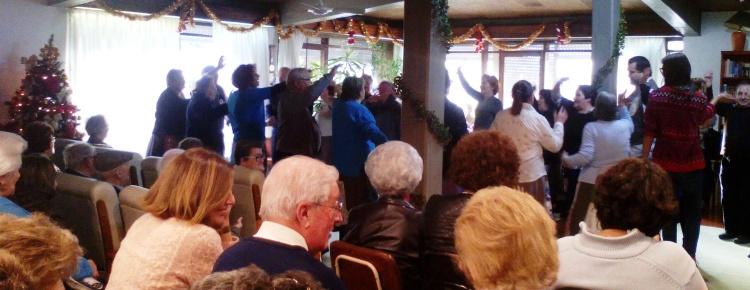 Natal no Centro Comunitário dança, alegria e sorrisos capa