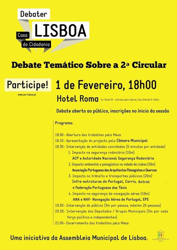 Debate 2ª Circular