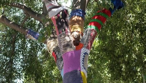 Centro comunitário crochet tricot