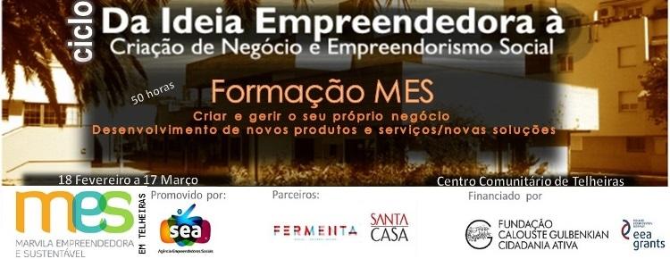 cartaz MES empreendedorismo
