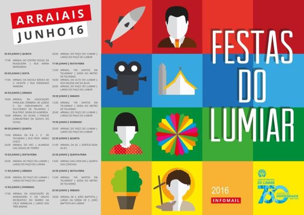 JFL Festas do Lumiar 2016 Arraiais