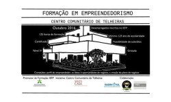 CCT Centro Comunitário acolhe formação em empreendedorismo capa