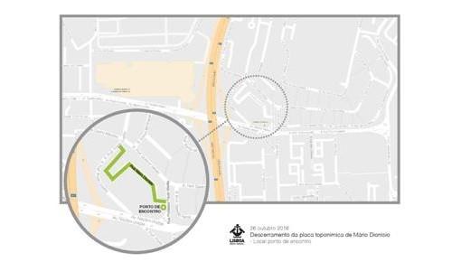 JFL Descerramento da placa toponímica da Rua Prof. Mário Dionísio capa