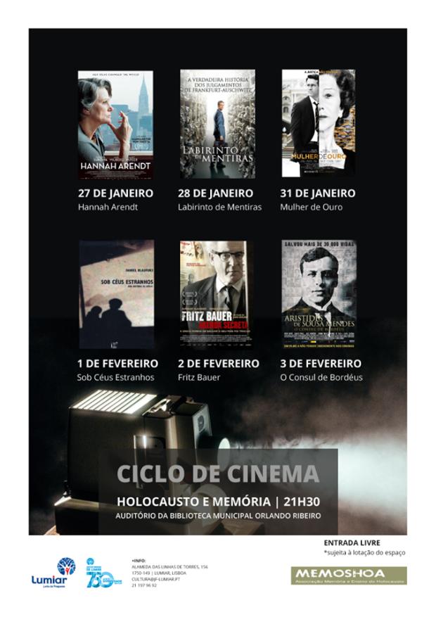 JFL Ciclo de Cinema - Holocausto e Memória