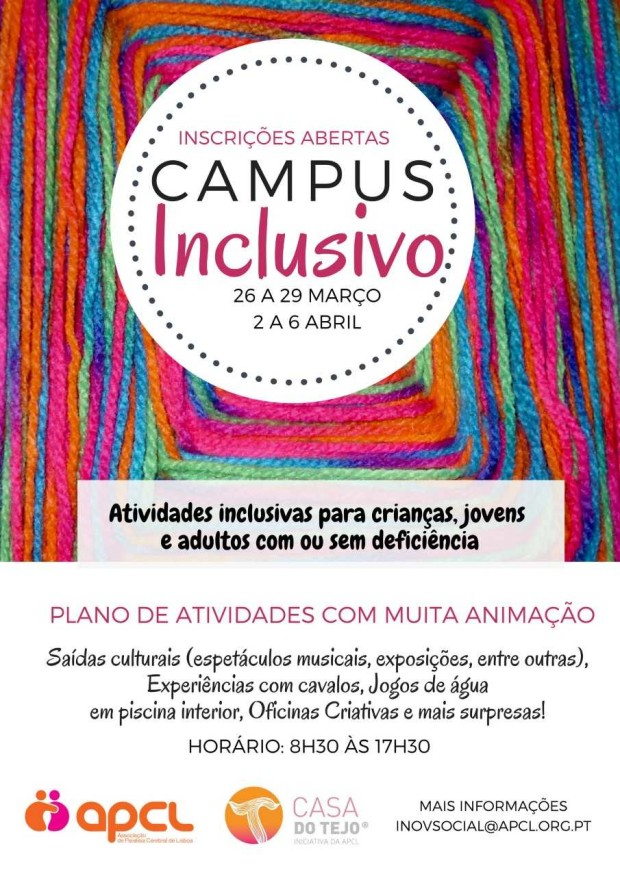 APCL Campus Inclusivo cartaz