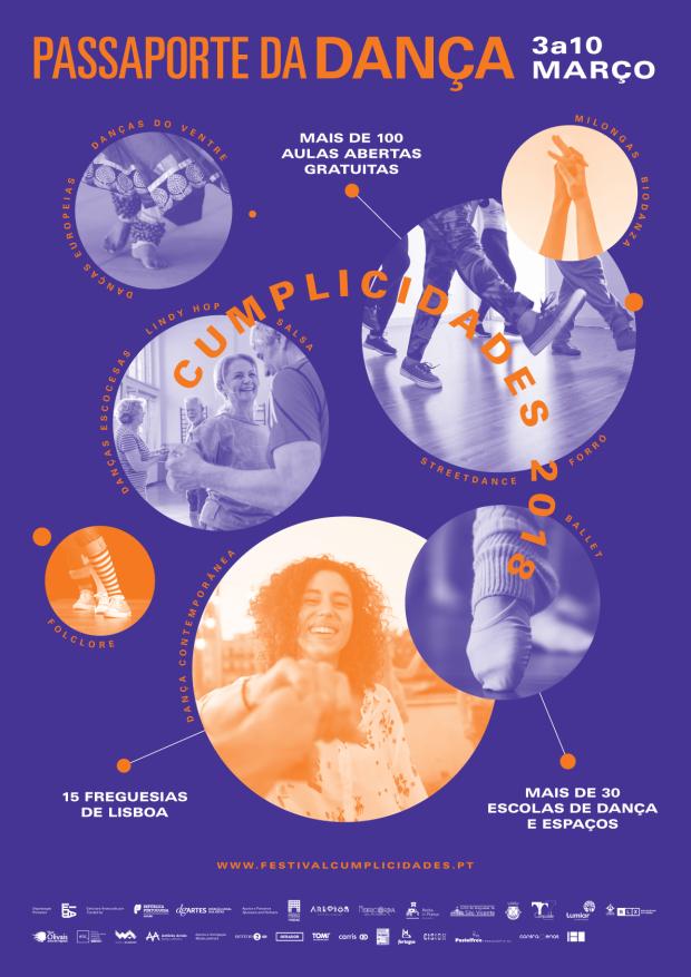 Festival Cumplicidades põe Lisboa a dançar e passa por Telheiras cartaz