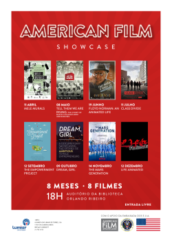 JFL BMOR American Film Showcase