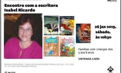 BMOR Encontro com a escritora Isabel Ricardo