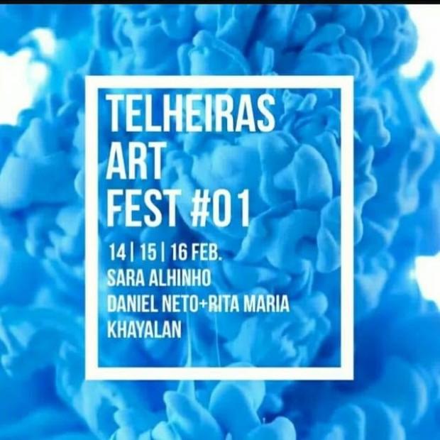 Telheiras Art Fest #1 cartaz 2