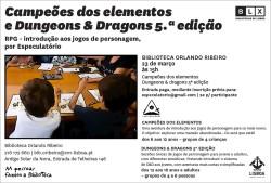 BMOR Campeões dos Elementos e Dungeons & Dragons