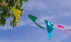 Festival capa bandeirolas