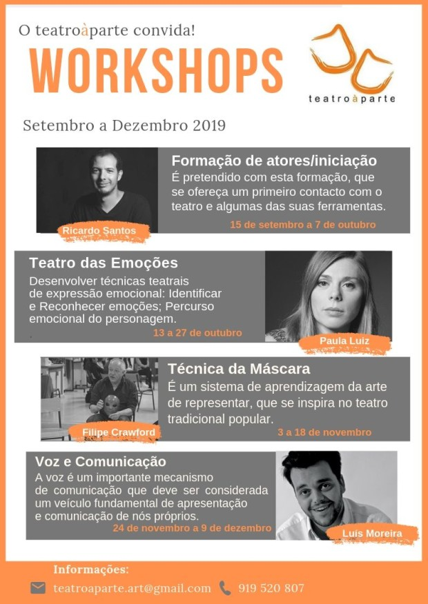 ART teatroàparte Workshops 2019_20