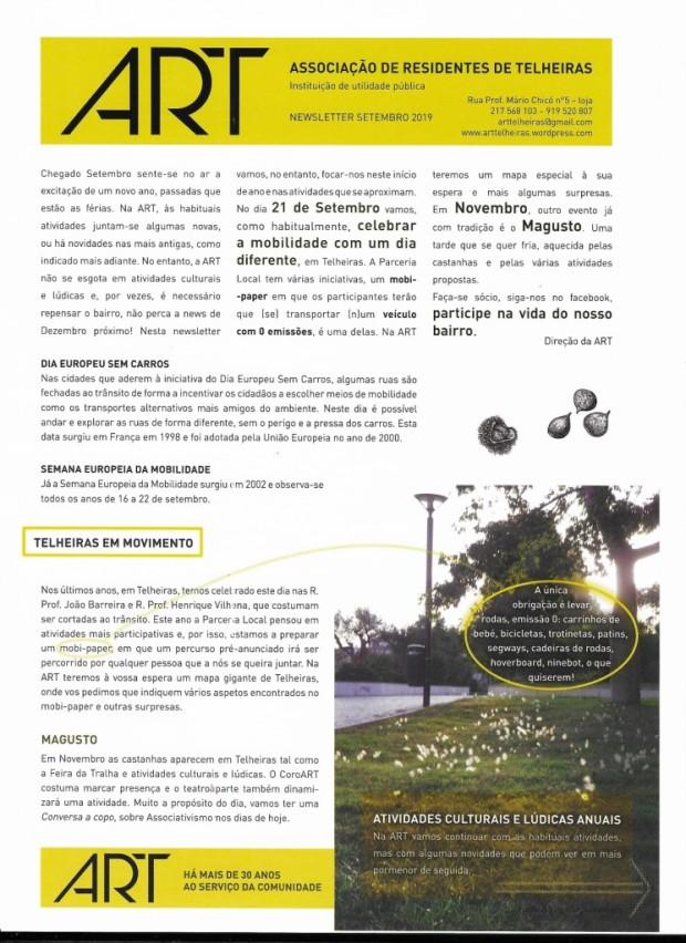 2019.09 ART Newsletter pág 1