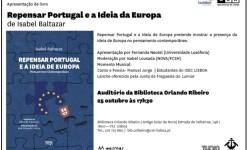 BMOR Repensar Portugal e a Ideia da Europa