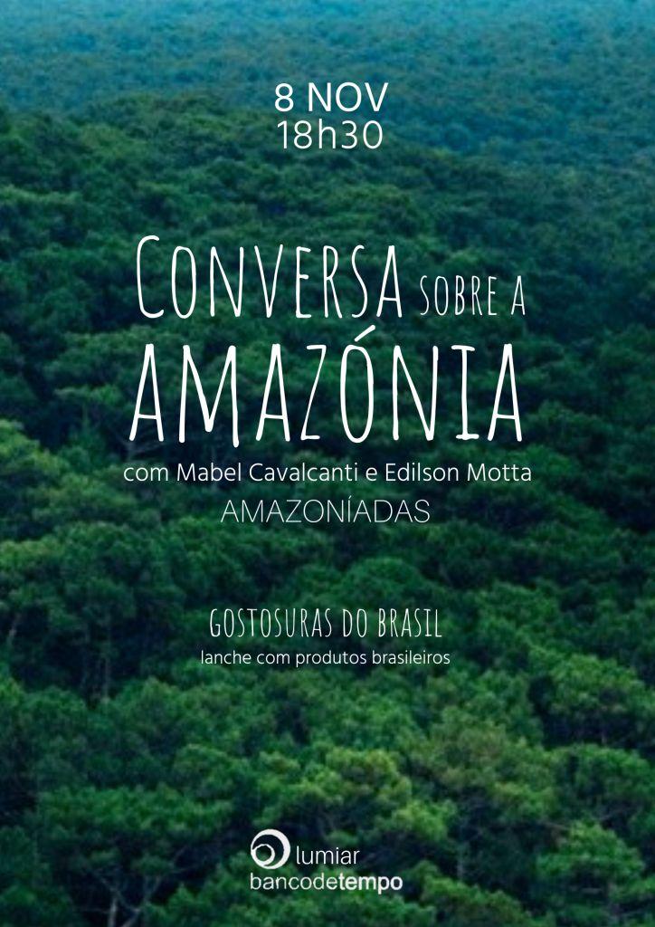 BTL Roda de Conversa sobre a Amazónia