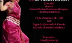 Isha Artes Workshop de Dança Clássica Indiana - Odissi