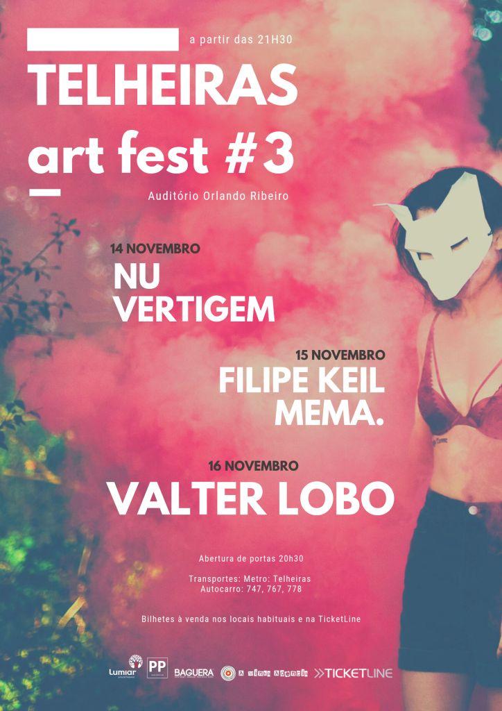 Telheiras Art Fest #3 cartaz