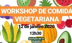 Jovens telheirenses organizam workshop de comida vegetariana na ART